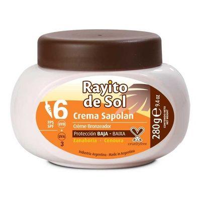Rayito-De-Sol-Sapolan-Con-Zanahoria-Crema-Fps6-280g-en-Pedidosfarma