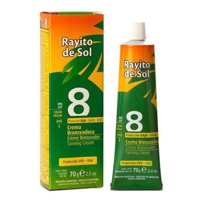 Rayito-De-Sol-Bronceador-Crema-Fps8-70g-en-Pedidosfarma