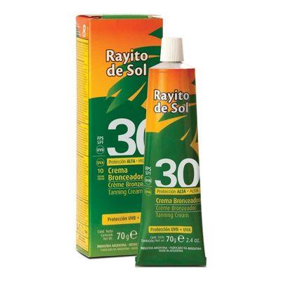Rayito-De-Sol-Crema-Bronzeadora-Con-Color-Fps30-70g-en-Pedidosfarma