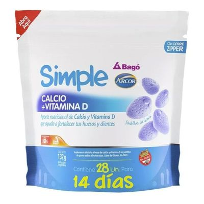 Simple-Bago-Calcio---Vitamina-D-28-Pastillas-De-Goma-en-Pedidosfarma
