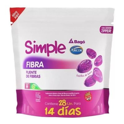 Simple-Bago-Fibra-Pastillas-De-Goma-Transito-Intestinal-28-U-en-Pedidosfarma