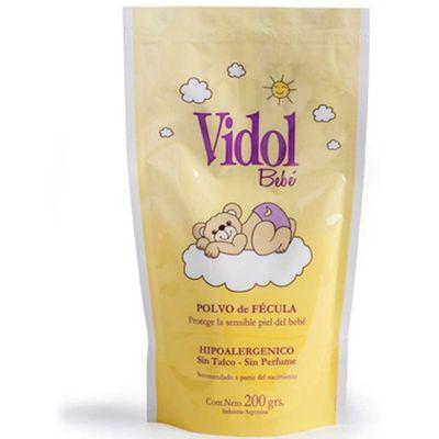 Vidol-Bebe-Polvo-En-Fecula-Hipoalergenico-Doy-Pack-200g-en-Pedidosfarma