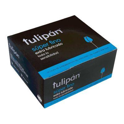 Tulipan-Preservativo-Latex-Super-Fino-12-Cajas-X-3-Unidades-en-Pedidosfarma