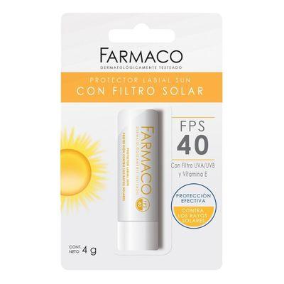 Farmaco-Protector-Labial-Sun-Con-Filtro-Solar-Fps40-4g-en-Pedidosfarma