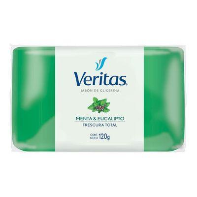 Veritas-Jabon-En-Barra-Menta-Y-Eucalipto-Frescura-Total-120g-en-Pedidosfarma