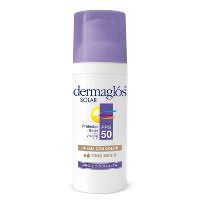 Dermaglos-Protector-Solar-Facial-Fps-50-Color-Tono-Medio-50g-en-Pedidosfarma