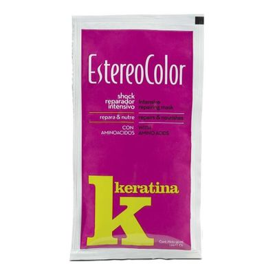 Estereocolor-Shock-Reparador-Capilar-Intensivo-Keratina-50g-en-Pedidosfarma