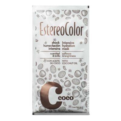 Estereocolor-Shock-Humectacion-Capilar-Intensivo-De-Coco-50g-en-Pedidosfarma