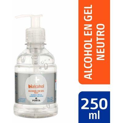 Bialcohol-Alcohol-En-Gel-Neutro-Con-Dosificador-250ml-en-Pedidosfarma
