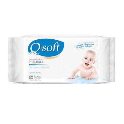 Q-Soft-Toallitas-Humedas-Para-Bebe-Premium-Clasica-50u-en-Pedidosfarma