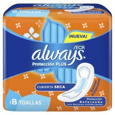 Always-Toallas-Higienicas-Seca-Proteccion-Plus-Sin-Alas-8u-en-Pedidosfarma
