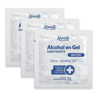 Komili-Alcohol-En-Gel-Sanitizante-70º-10-Sibres-X-3g-en-Pedidosfarma