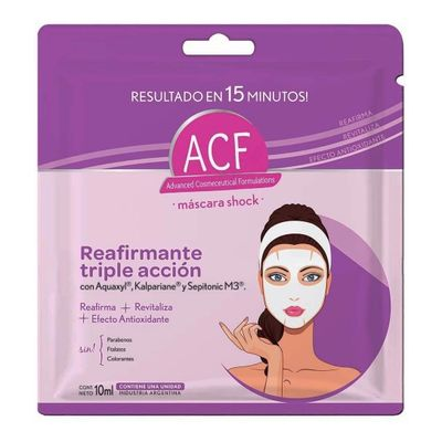 Acf-Shock-Reafirmante-Triple-Accion-Mascara-Facial-10ml-en-Pedidosfarma