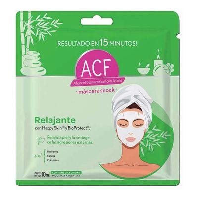 Acf-Shock-Relajante-Mascara-Facial-10ml-en-Pedidosfarma