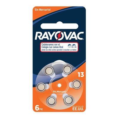Rayovac-Pilas-Boton-13-Para-Audiologia-6-Unidades-en-Pedidosfarma