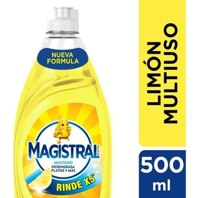 Detergente-Magistral-Multiuso-Limon-Sintetico-En-Botella-500-en-Pedidosfarma