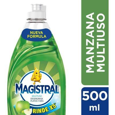Detergente-Magistral-Multiuso-Manzana-Botella-500ml-en-Pedidosfarma