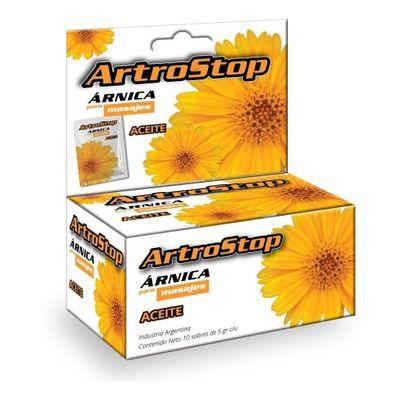 Artrostop-Arnica-Para-Masaje-Aceite-10-Sobres-X-5g-en-Pedidosfarma