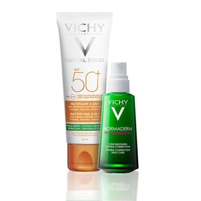 Vichy-Combo-Normaderm-Phytosolution-50ml---Capital-Soleil-3-En-1-de-50ml