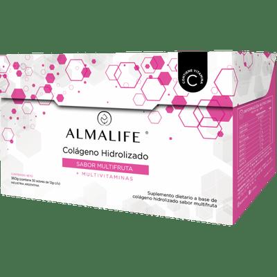 Almalife-Colageno-Hidrolizado-Bebible-Multifruta-30-Sobres--7798354240038