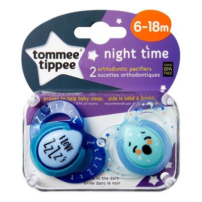 Tommee-Tippee-Night-Time-Chupete-6-18-Meses-2-Unidades-en-FarmaPlus