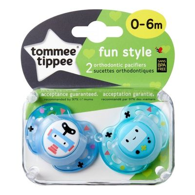 Tommee-Tippee-Fun-Style-Chupete-0-6-Meses-2-Unidades-en-FarmaPlus