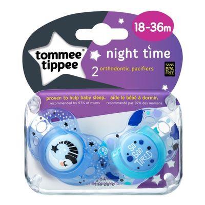 Tommee-Tippee-Night-Time-Chupete-18-36-Meses-2-Unidades-en-FarmaPlus