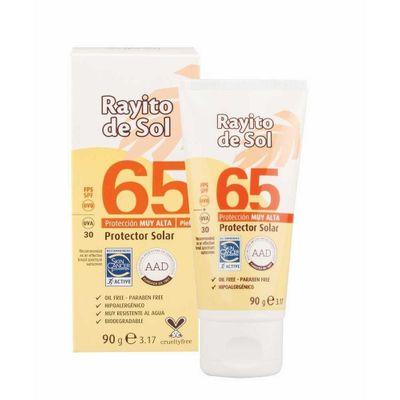 Rayito-De-Sol-Protector-Solar-Fps-65-Emulsion-Pomo-90g-en-FarmaPlus