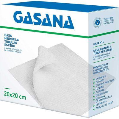 Gasana-Gasa-Hidrofila-Tubular-20-X-20cm-8-Sobres-X-4-Trozos-en-FarmaPlus