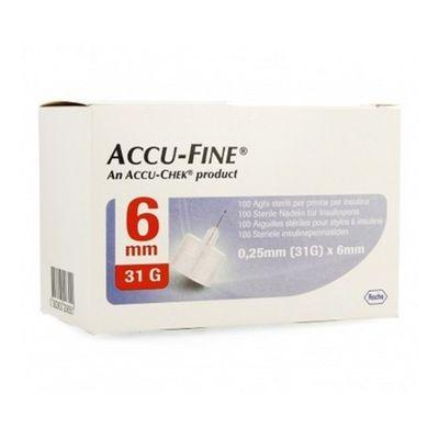 Accu-Fine-Penn-Needle-Agujas-6mm-X31g-100-Unidades-en-FarmaPlus