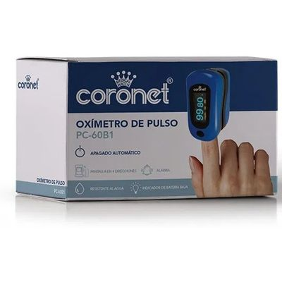 Coronet-Oximetro-De-Pulso-Creative-Pc60-B1-Con-Curva-1u-en-FarmaPlus