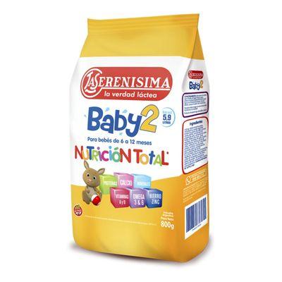 Leche-De-Formula-En-Polvo-Mastellone-Hnos-La-Serenisima-Baby-2-Bolsa-800g-en-FarmaPlus