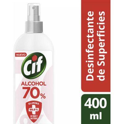 Cif-Alcohol-70--Desinfectante-De-Superficie-Spray-400ml-en-FarmaPlus
