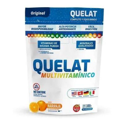 Quelat-Multivitaminico-Vitaminas-Minerales-Naranja-300g-en-FarmaPlus