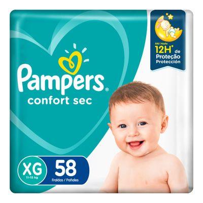 Pañales-Pampers-Confort-Sec-Max--Xg-58-u-en-FarmaPlus