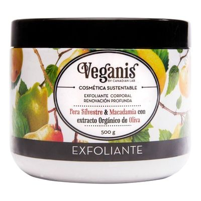 Veganis-Exfoliante-Corporal--Pera-Silvestre-Macadamia-500g-en-FarmaPlus