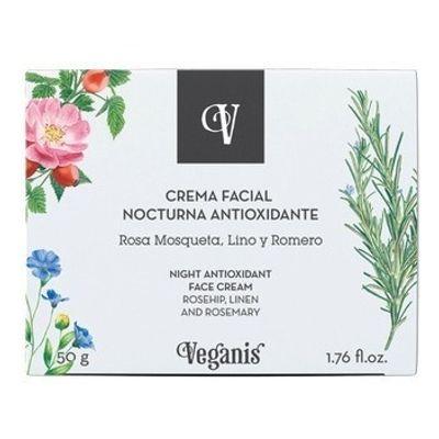 Veganis-Crema-Facial-Nocturna-Antioxidante-Antiarrugas-50g-en-FarmaPlus