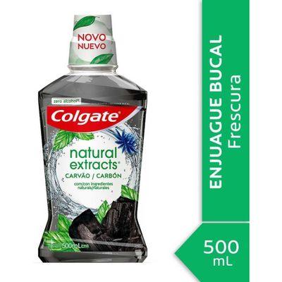 Colgate-Natural-Extracts-Carbon-Enjuague-Bucal-500ml-en-FarmaPlus