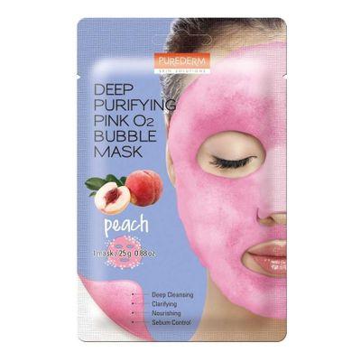Purederm-Deep-Purifying-Pink-Peach-O2-Bubble-Mask-1-Unidad-en-FarmaPlus