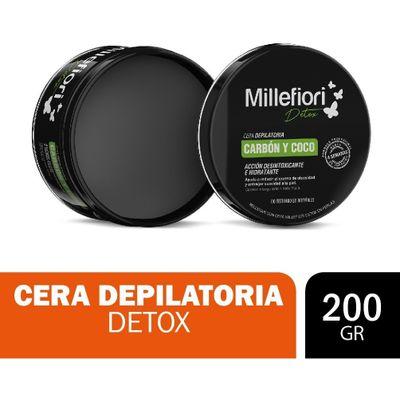 Millefiori-Detox-Cera-Depilatoria-Carbon-Y-Coco-200g-en-FarmaPlus