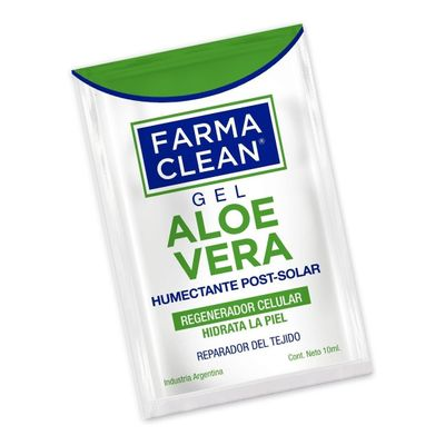 Farma-Clean-Gel-Aloe-Vera-Humectante-Post-Solar-4-X-10ml-en-FarmaPlus