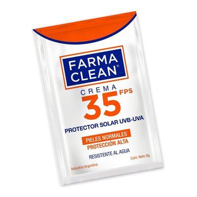 Farma-Clean-Protector-Solar-Uvb-uva-Fps35-Crema-4x8g-en-FarmaPlus