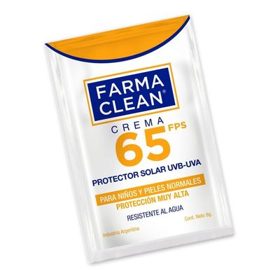 Farma-Clean-Protector-Solar-Uvb-uva-Fps65-Crema-4x8g-en-FarmaPlus