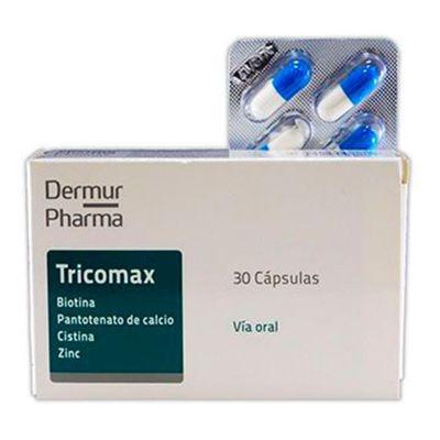 Tricomax-Suplemento-Para-Reducir-La-Caida-De-Cabello-30-Caps-en-FarmaPlus