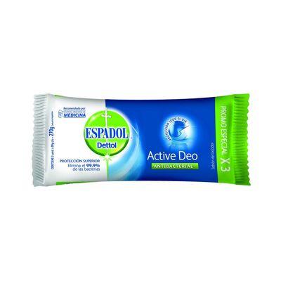 Jabon-En-Barra-Espadol-Active-Deo-Antibacterial-90-g-Pack-X3-en-FarmaPlus