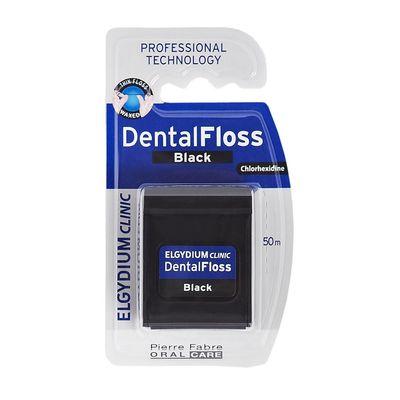 Elgydium-Clinic-Black-Hilo-Dental-Negro-C-clorhexidina-50m-en-FarmaPlus