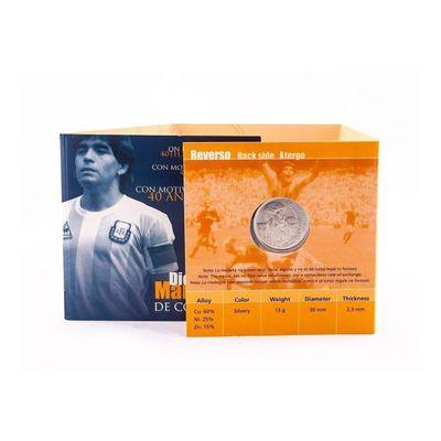 Moneda-De-Alpaca-Coleccion-Diego-Maradona-40-Aniversario