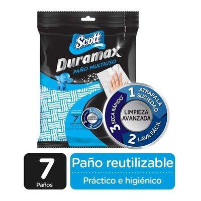 Duramax-Paños-Scott-Reutilizables-X-7-Unidades-en-FarmaPlus