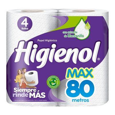 Papel-Higienico-Higienol-Max-Simple-80-mts-De-4-unidades-en-FarmaPlus