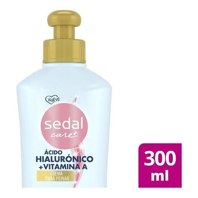 Sedal-Care-Crema-Para-Peinar-Hialuronico-Y-Vitamina-A-X300ml-en-FarmaPlus